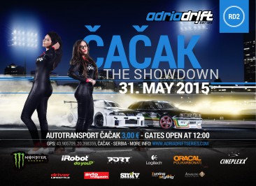 Adria Drift Series Round 2 – Autotransport Čačak | 31. maj, 2015, ČAČAK