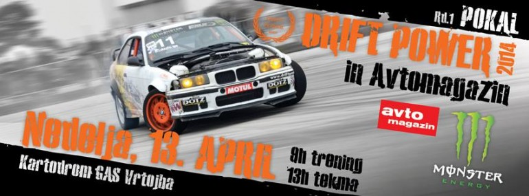 1. Driftpower drift pokal 13.4.2014
