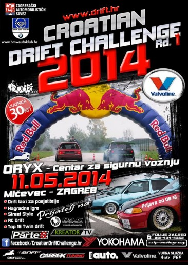 CROATIAN DRIFT CHALLENGE Rd.1 / 11.5.2014