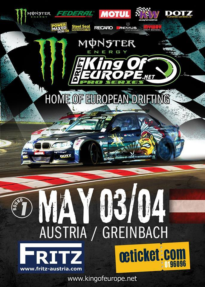 King of Europe – Pro Series // Austrian Round 03./04. Maj 2014 – PS RACING Center Greinbach