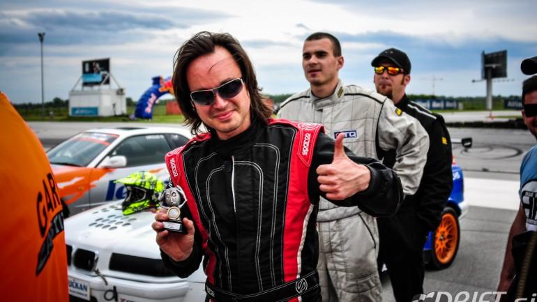 Marko Brkljačić zmagovalec prvega kroga letošnjega Croatian Drift Challenge-a