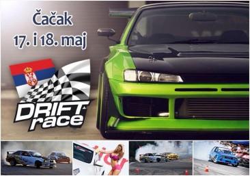 1. tekma odprtega prvanstva Srbije v driftu 17-18.5.2014, Čačak