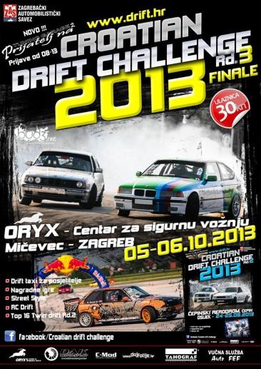 Croatian Drift Challenge 2013 Rd. 3 Finale 5-6.10.2013