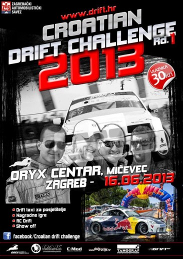 Croatian Drift Challenge 2013 Rd. 1 –  16.6.2013