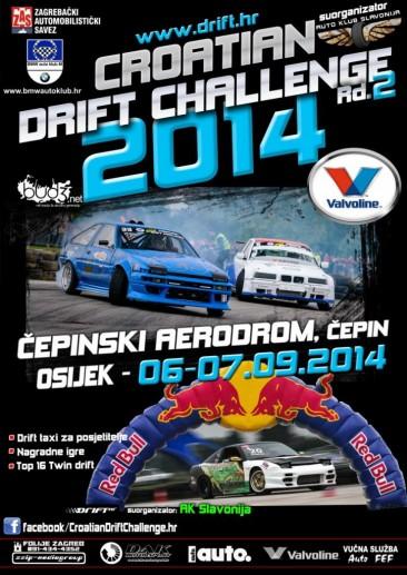 CROATIAN DRIFT CHALLENGE Rd.2, Osijek 06-07.09.2014.