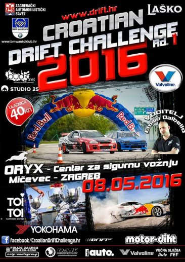 CROATIAN DRIFT CHALLENGE 2016 Rd.1, Zagreb, 08.05.2016