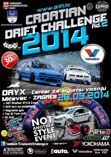CROATIAN DRIFT CHALLENGE 2014, Rd.2 – 28.09.2014