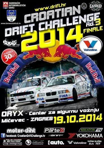 **CROATIAN DRIFT CHALLENGE 2014, Rd.3 FINALE – 19.10.2014**
