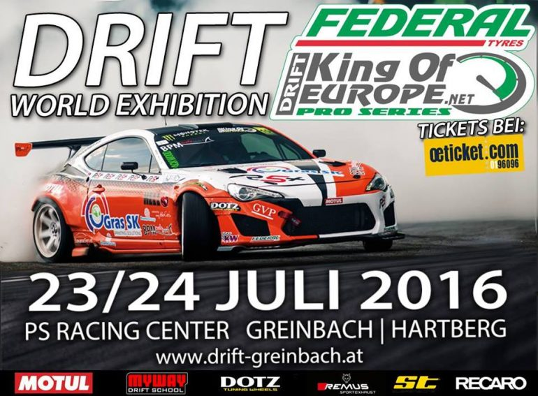 23.-24. Julij 2016 na PS RACING CENTER Greinbach bei Hartberg