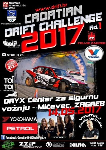 Croatian DRIFT Challenge 2017 Rd 1