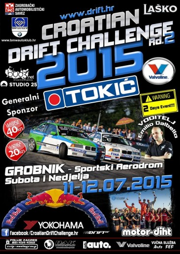 CROATIAN DRIFT CHALLENGE 2015 Rd.2