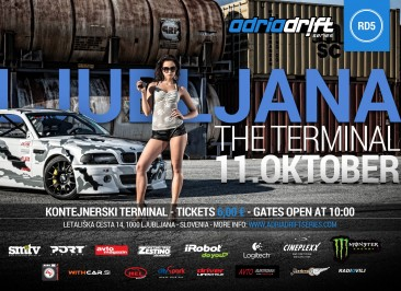 Adria Drift Series Round 5 – Container Terminal Ljubljana | October 11, 2015