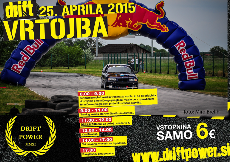 DriftPower Pokal, Vrtojba rd.1, 25.april 2015